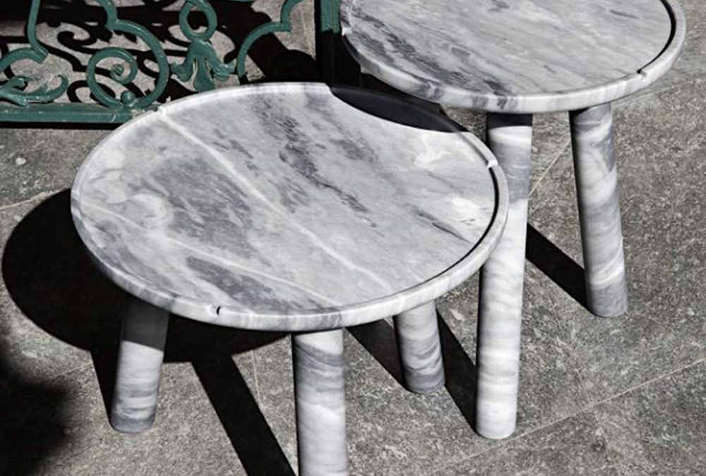 EXTETA Botticino Marble Table