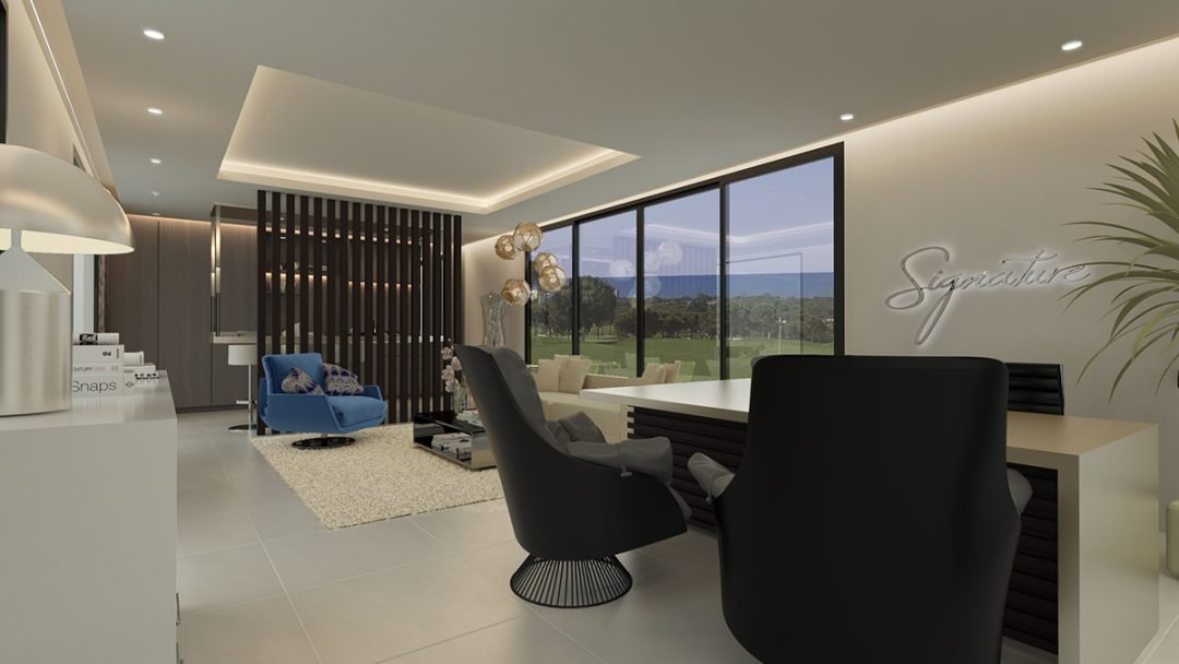 Sales office in Marbella