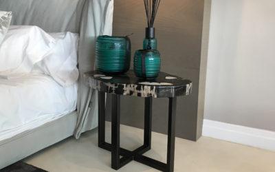 GERT SNEL Set of 2 Side Tables